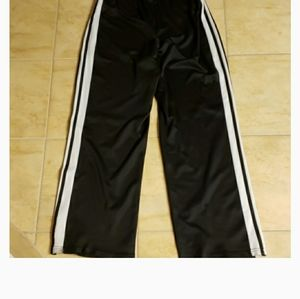 Black and White Jogging Pants